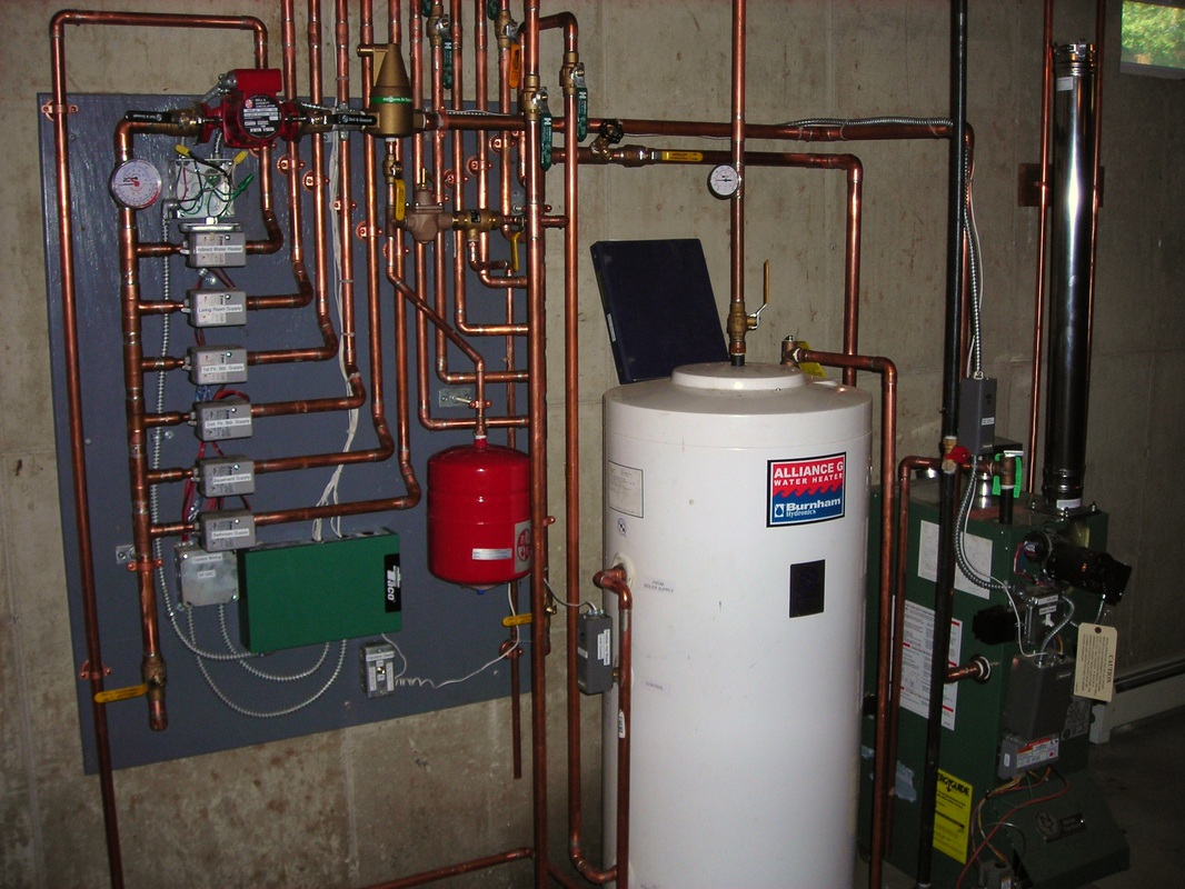 Pictures alternative heating solutions inc for Pex hot water heating system
